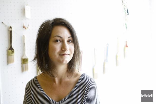 Émilie Côté est issue de la relation d'aide... (Le Soleil, Caroline Grégoire)