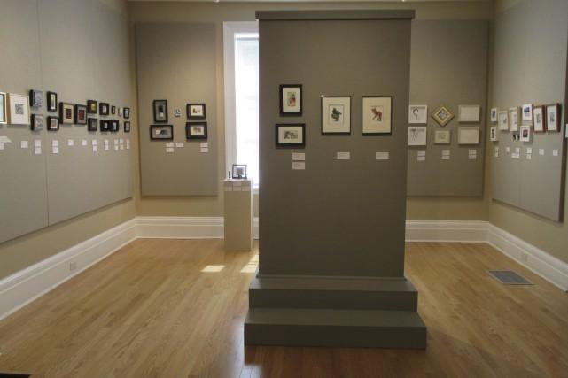 La Galerie Louise-Carrier présente le volet concours de... (fournie par l'Internationale d'art miniature)