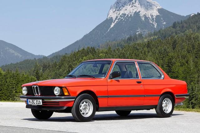 La BMW Série 3 1975... (Photo fournie par le constructeur)