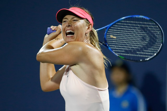 Maria Sharapova... (Photo Stan Szeto, USA Today Sports)