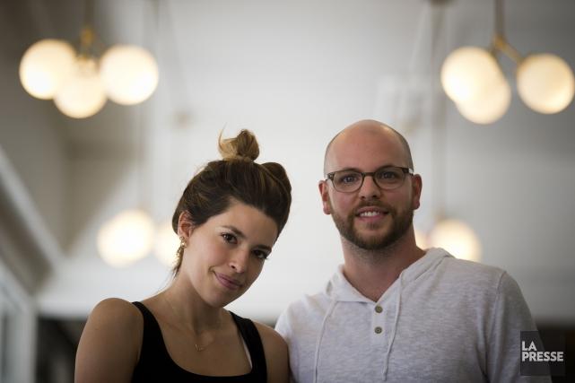 Marilou et Alexandre Champagne... (Archives La Presse, François Roy)