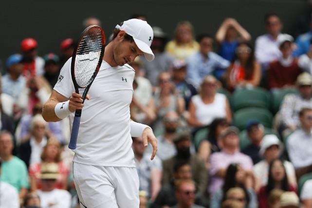 Le numéro 1 mondial Andy Murray est toujours... (Photo Daniel Leal-Olivas, AFP)