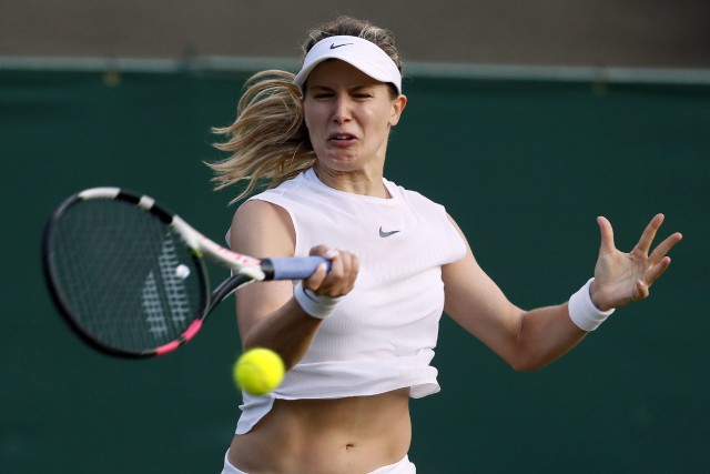 Eugenie Bouchard... (Photo Kirsty Wigglesworth, archives AP)