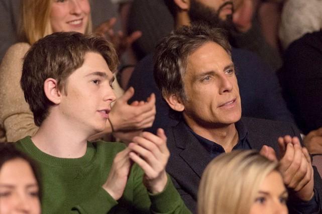 Ben Stiller (à droite) tient la vedette dans... (La Presse canadienne, Ho-Tiff)