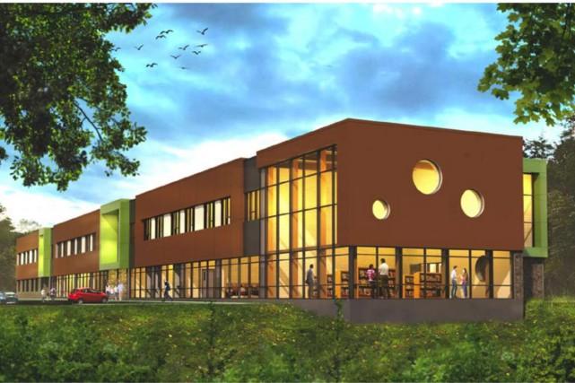 La nouvelle école primaire de Val-des-Monts pourrait ne... (Courtoisie)