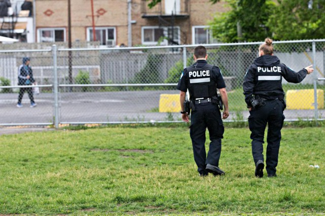 Les hausses annuelles proposées aux policiers de Montréal... (PhotoPATRICK SANFAÇON, Archives LA PRESSE)