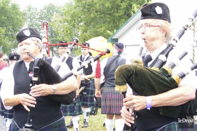 Les Jeux écossais de Glengarry, qui se tiennent... (Archives, Le Droit)