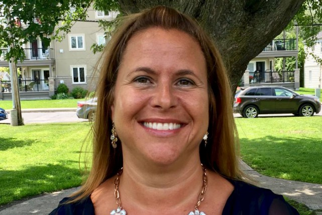 La nouvelle directrice de l'école Saint-Paul, Maryse Legault... (Courtoisie)