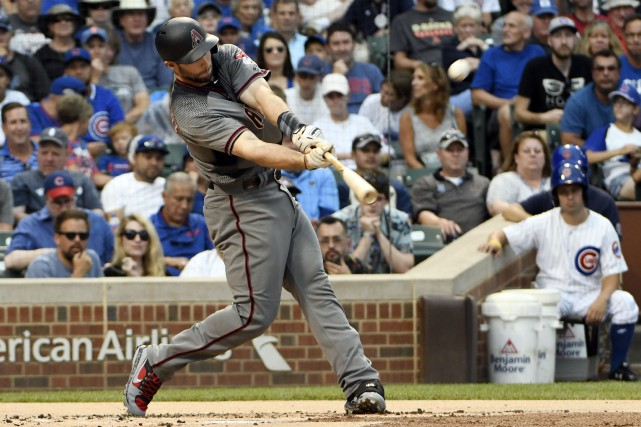 Paul Goldschmidt (44)... (Photo David Banks, USA TODAY Sports)