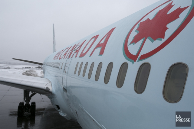 Air Canada précise que l'avion venait de survoler... (archives La Presse)