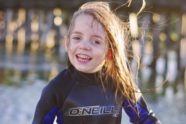 La petite Romy Teasdale-Rochford, 5 ans, participait au... (Photo fournie)
