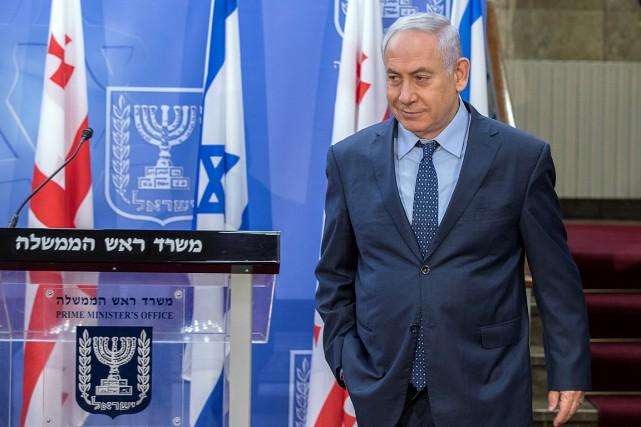 Les investigations concernant le premier ministre israélien font... (PHOTO JACK GUEZ, ARCHIVES REUTERS)
