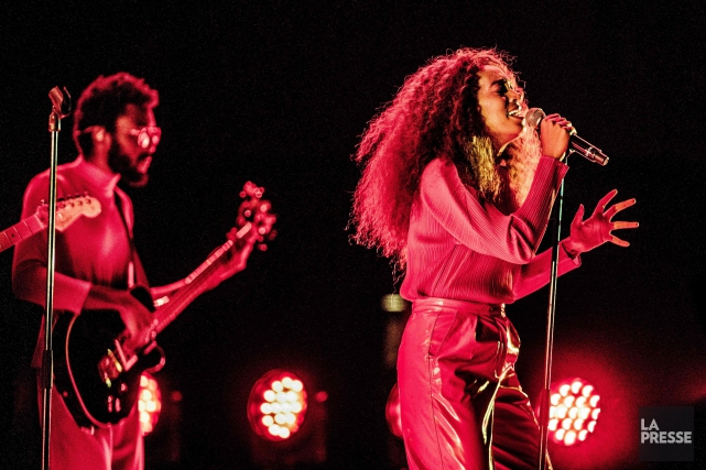 Solange en concert à Rotterdam, le 8 juillet... (PHOTO Paul Bergen, archives AFP)