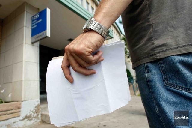 Le taux de chômage a diminué de 1,2... (Archives Le Quotidien)