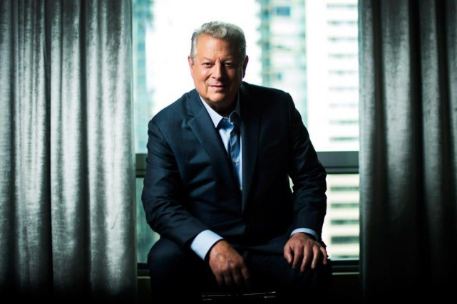 Dans An Inconvenient Sequel: Truth to Power, Al Gore... (Photo Nathan Denette, archives La Presse canadienne)