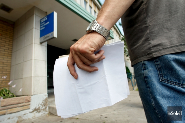 Le taux de chômage à Québec était de 4 % en juillet, une diminution de 0,4 %... (Photothèque Le Soleil)