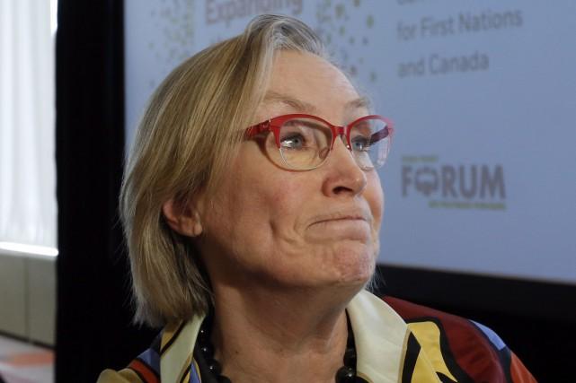 La ministre des Affaires autochtones du Canada,Carolyn Bennett... (Archives, La Presse Canadienne)