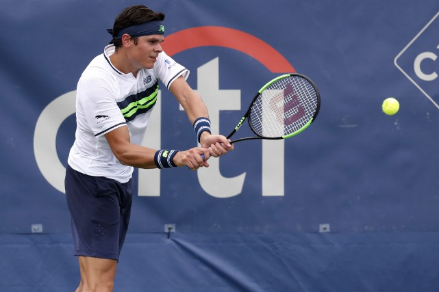 Milos Raonic... (Photo Geoff Burke, USA Today Sports)
