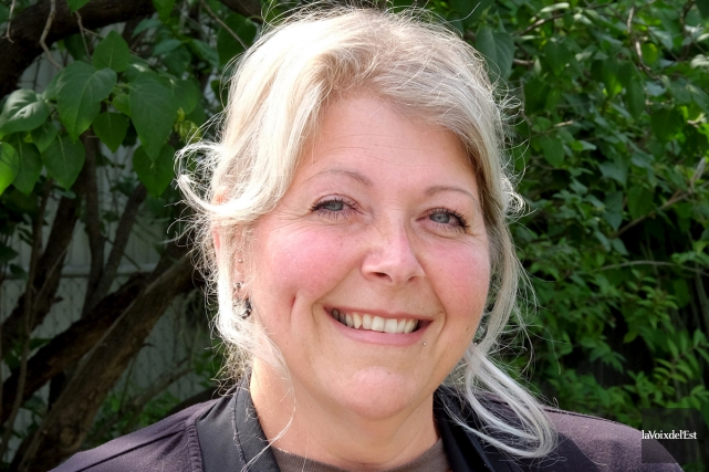 Patricia Desrosiers sera candidate au poste de conseiller... (Alain Dion, La Voix de l'Est)