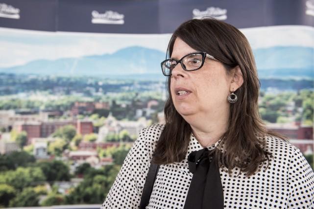 La conseillère Hélène Dauphinais a été victime d'un... (Archives, La Tribune)