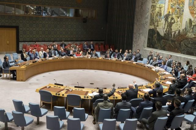 Selon Washington, l'ensemble des nouvelles sanctions devrait conduire... (AP, Mary Altaffer)