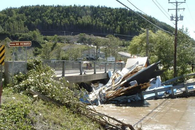 Les deux victimes des inondations de 2007 avaient... (Photothèque Le Soleil, Geneviève Gélinas)