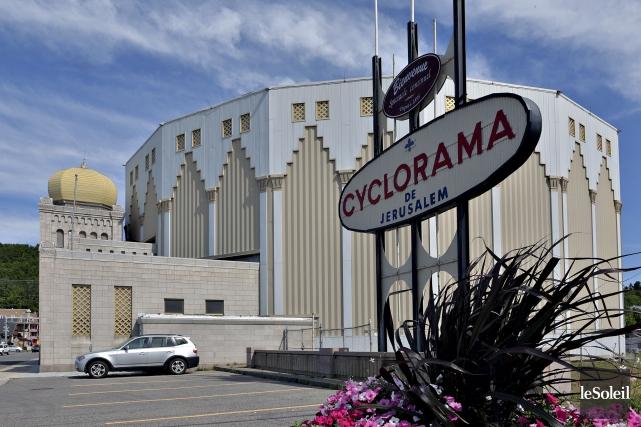 Le Cyclorama de Jérusalem est à vendre au... (Photothèque Le Soleil, Patrice Laroche)