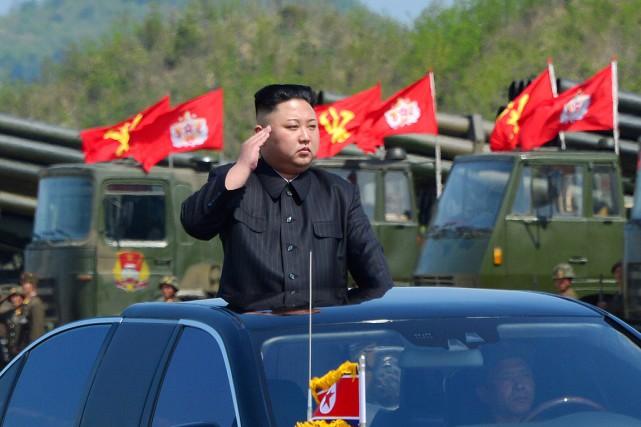 Kim Jong-un... (PHOTO ARCHIVES REUTERS/KCNA)