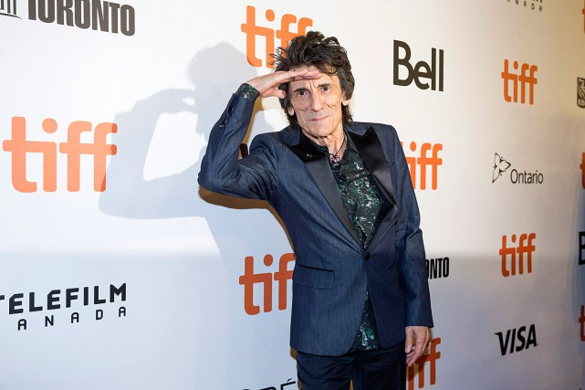 Ronnie Wood sur le tapis rouge du documentaire... (PHOTO MICHELLE SIU, ARCHIVES LA PRESSE CANADIENNE)