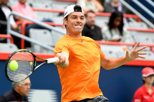 Frank Dancevic est maintenant classé 357e au classement de... (PHOTO ERIC BOLTE, USA TODAY)