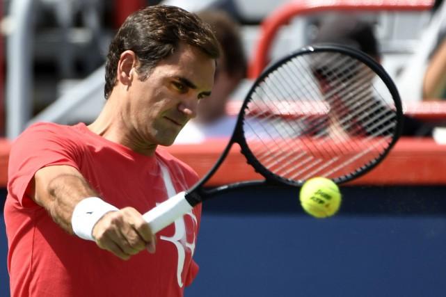 Roger Federer a mené dimanche une séance d'entraînement... (PHOTO REUTERS)