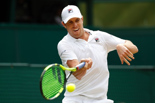Sam Querrey... (Photo Adrian Dennis, archives  Agence France-Presse)