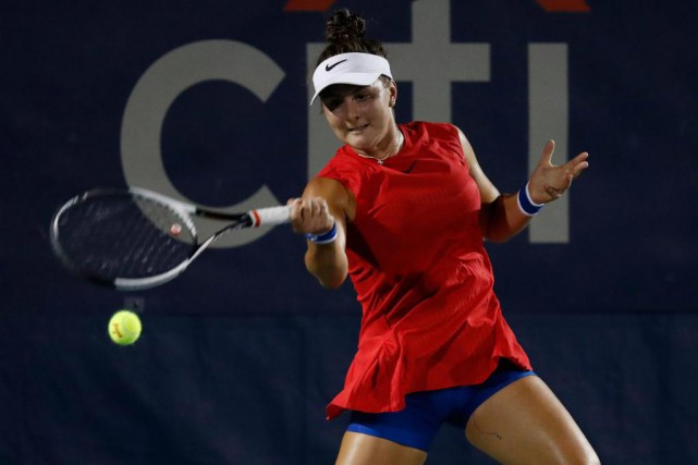 Bianca Andreescu vient d'atteindre les quarts à Washington - sa... (Photo Geoff Burke, Archives USA TODAY Sports)