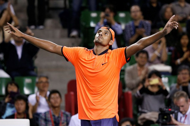Nick Kyrgios... (PHOTO KIM KYUNG-HOON, ARCHIVES REUTERS)