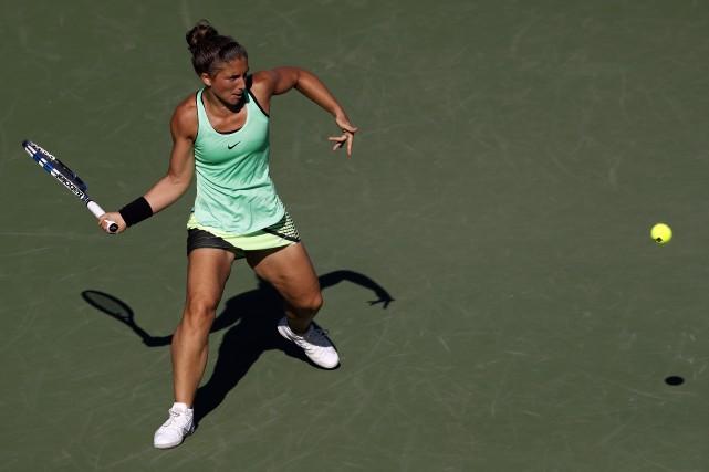 Sara Errani... (Photo Geoff Burke, archives USA Today Sports)