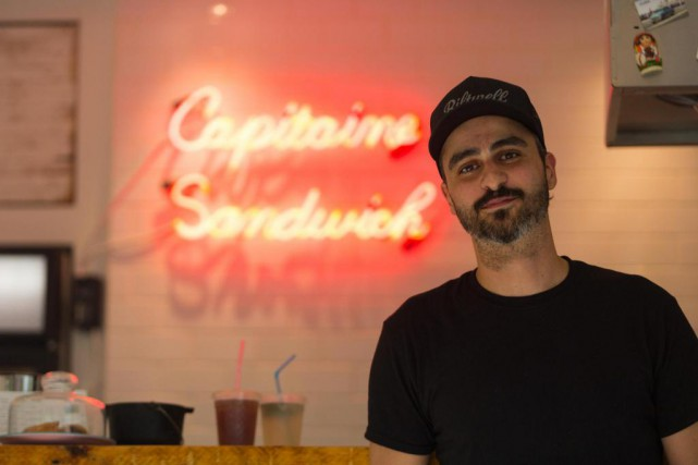Samir Benzeguir, c'est le capitaine sandwich de la... (PHOTO OLIVIER JEAN, LA PRESSE)
