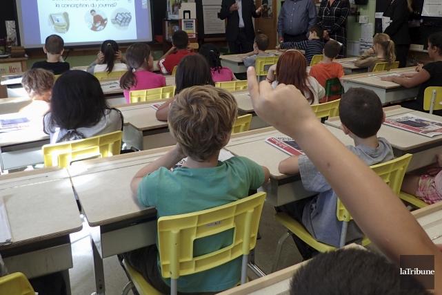 Penser créer un ordre professionnel des enseignants est un «véritable panier de... (Archives La Tribune)