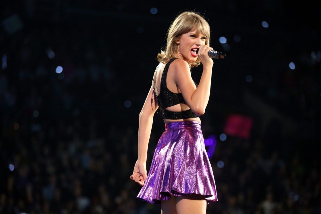 Taylor Swift... (Photo AP)
