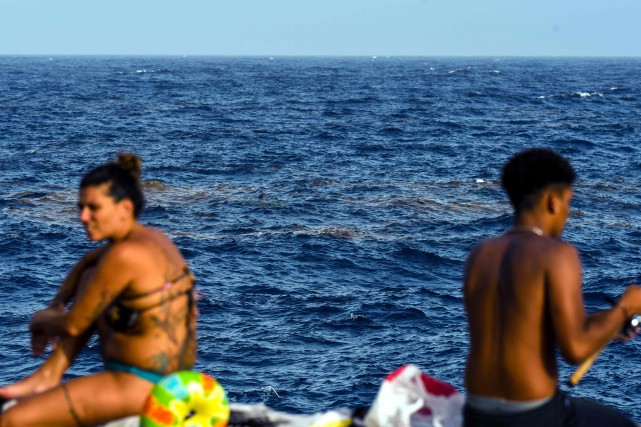 L'archipel a reçu l'an dernier plus de 13... (PHOTO AFP)