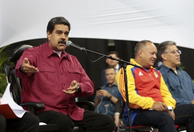 Nicolas Maduro... (AFP)