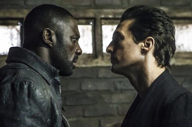 Idris Elba et Matthew McConaughey se partagent l'écran... (PHOTO AP)