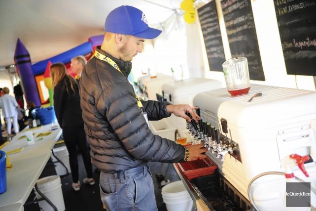 La Fête de la bière de Saint-Gédéon a... (Photo Le Quotidien, Gimmy Desbiens)