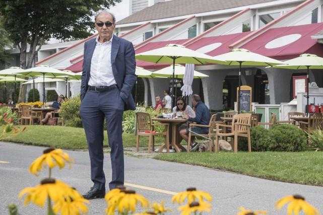 Propriétaire de l'Hôtel et spa L'Étoile-sur-le-Lac, l'homme d'affaires... (Spectre Média, Frédéric Côté)