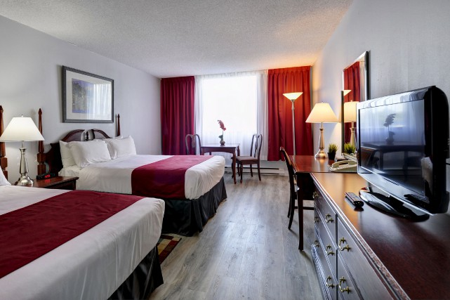 Les investissements à l'hôtel Travelodge Québec, anciennement Clarion,... (fournie par l'hôtel Travelodge Québec)