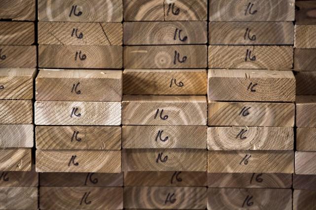 Lorsque l'ALENA a été élaboré, le bois d'oeuvre... (Photothèque Le Soleil)
