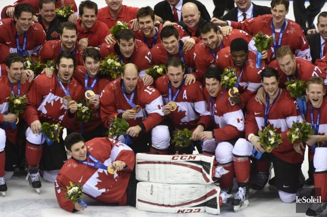 L'équipe canadienne masculine de hockey aura un visage... (Photothèque Le Soleil)