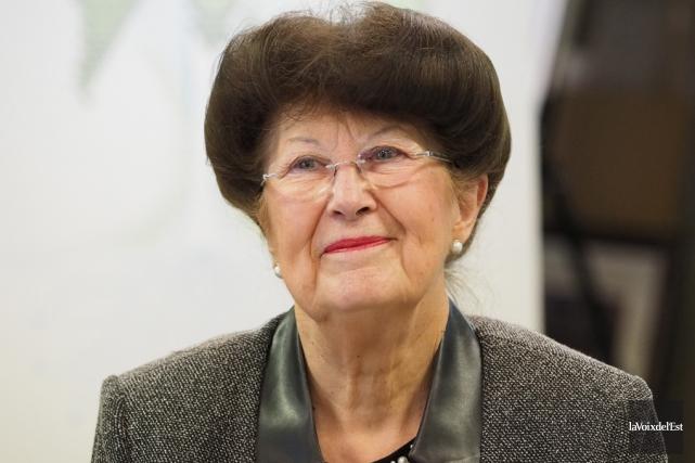 La mairesse de Bromont, Pauline Quinlan.... (archives La Voix de l'Est)