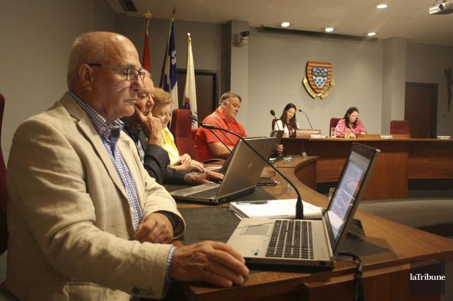 Le conseil municipal de Magog a accord, lundi... (La Tribune, Jean-François Gagnon)