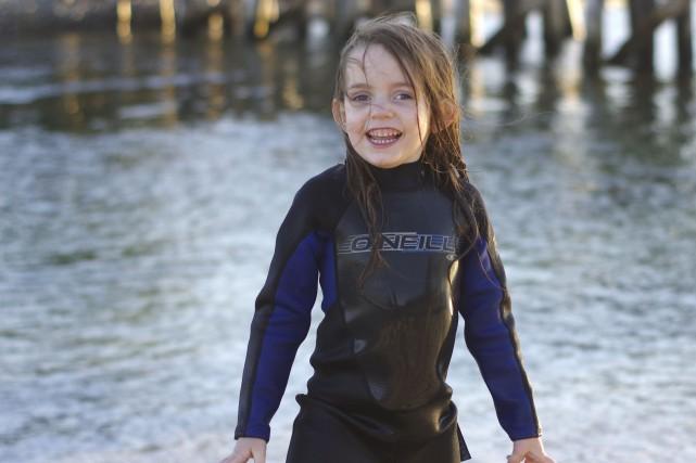 La jeune autiste Romy Teasdale-Rochford pourra réintégrer dès... (Photo fournie)