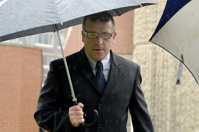 Après 22 ans de carrière, Adrian Pogmore a... (Photo Anna Gowthorpe/PA via AP)